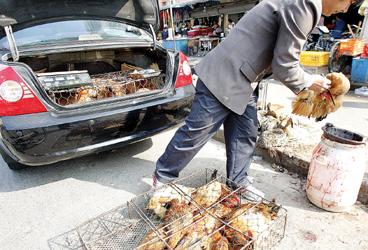 穷女婿过年送两只鸡,被岳父拿去喂流浪狗,岳母打开袋子傻了...