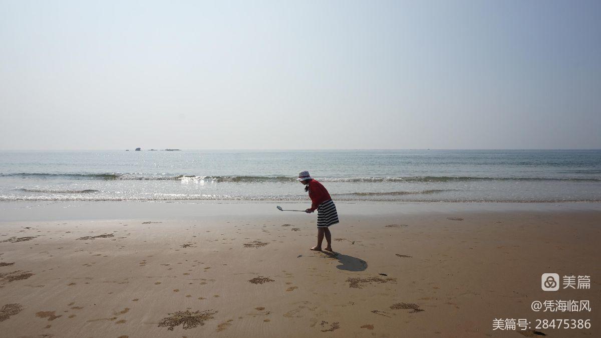 沙蟹的杰作 - 凭海临风 - 心灵的港湾