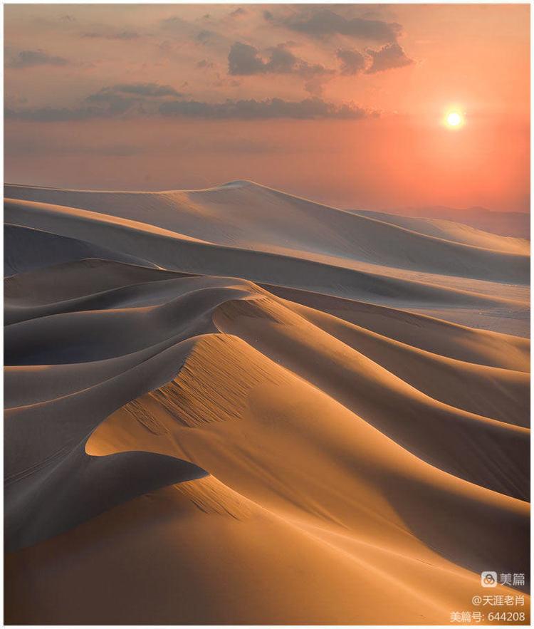 美丽的新疆(21)--库木塔格沙漠 - 天涯-5 - 天涯摄影博客-5