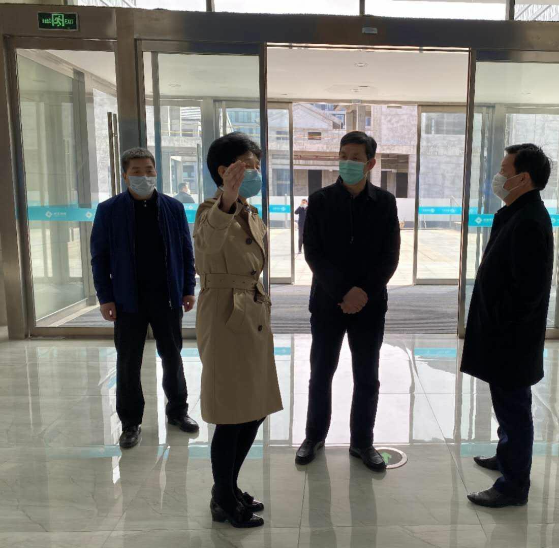 刘三民主任前往陕西省大数据集团公司拜访学习