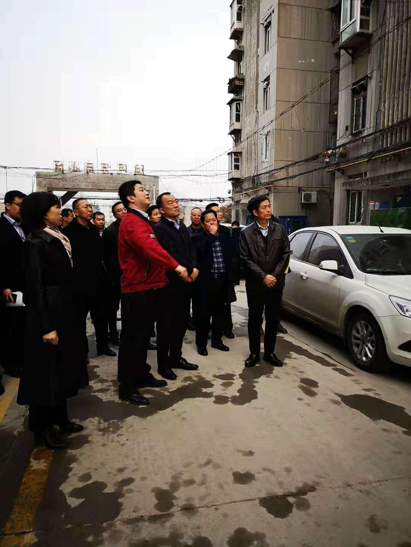 王勇副市长调研国企老旧小区维修改造