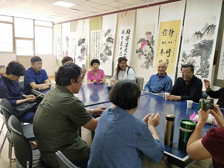 内蒙古地矿局离退休职工庆祝新中国成立七十周年书画展