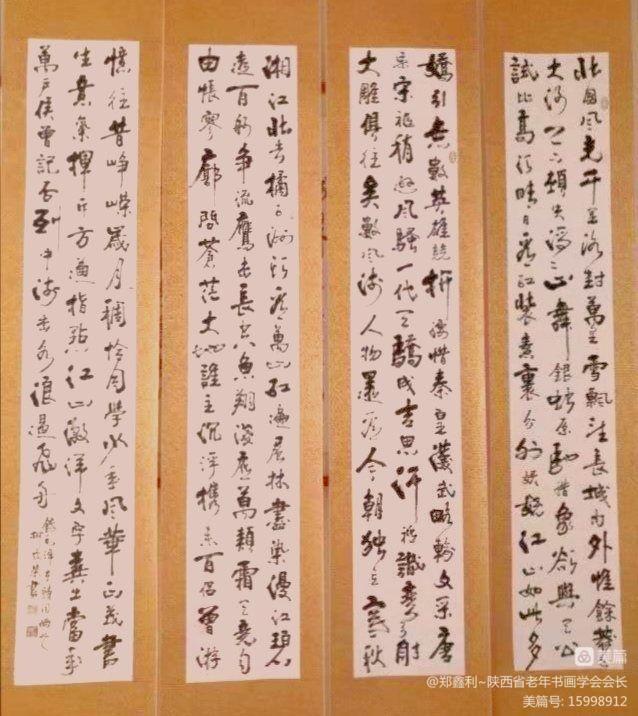陕西省老年书画学会研究员颁证仪式暨首届研究员书画作品展在三秦书画研究院隆重举行