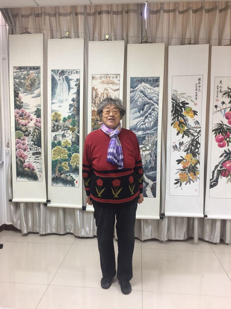 中国航天三院老年书画研究会.会长书画作品联展欣赏