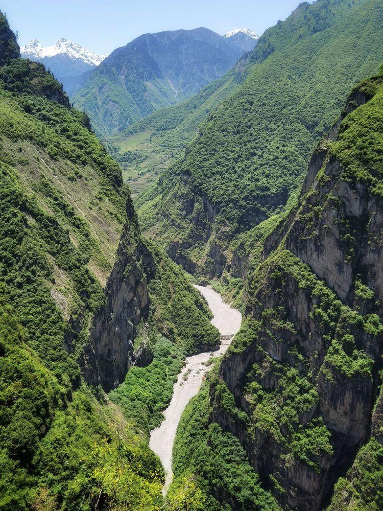 成都周边一日游推荐-汶川雁门乡月里羌寨-西羌大峡谷