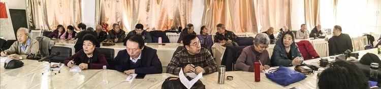 吉林省辽源市老干部(老年)书画研究会党支部活动日