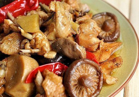 黄金香菇鸡的烹饪秘诀