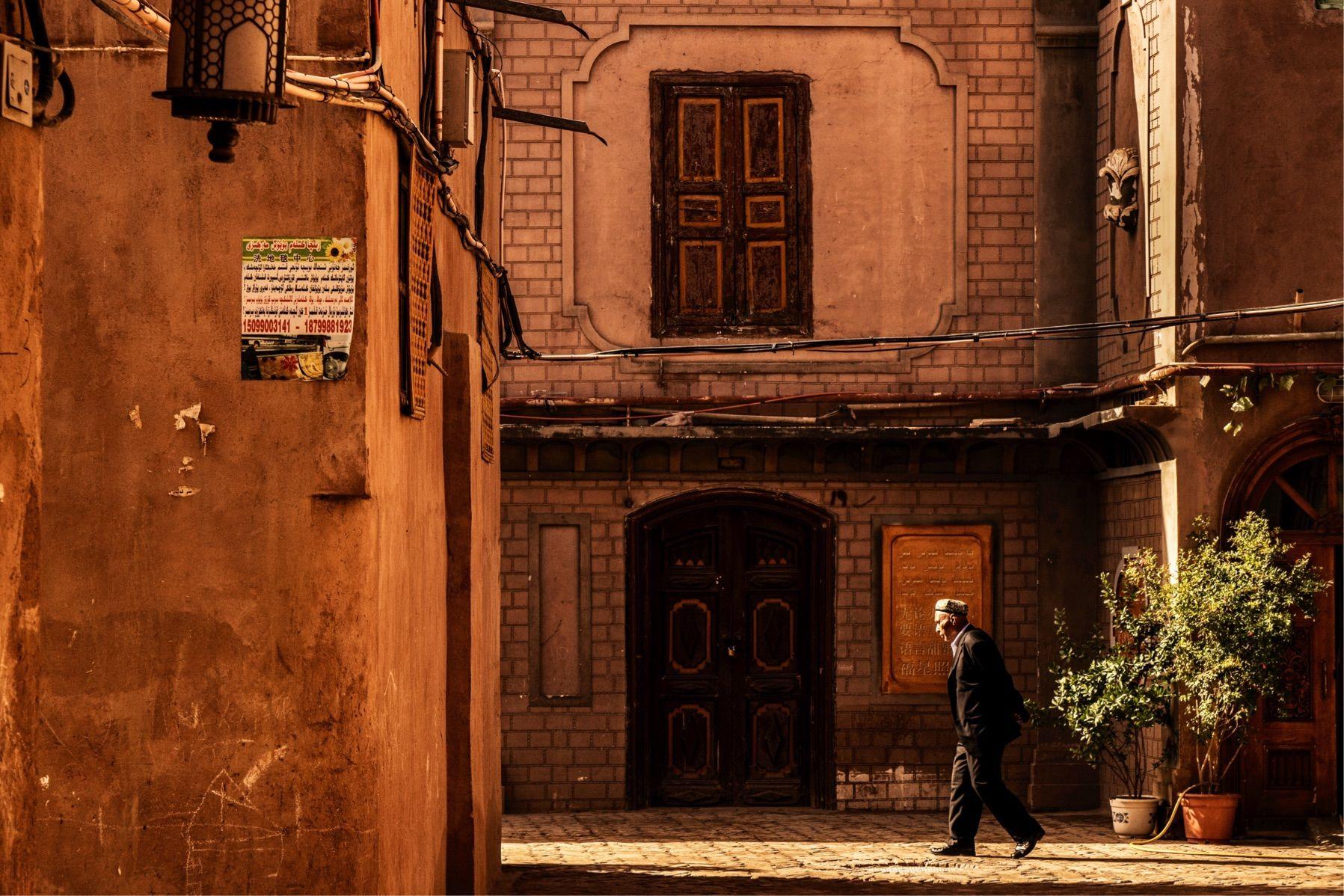 西域风情的喀什葛尔古城
