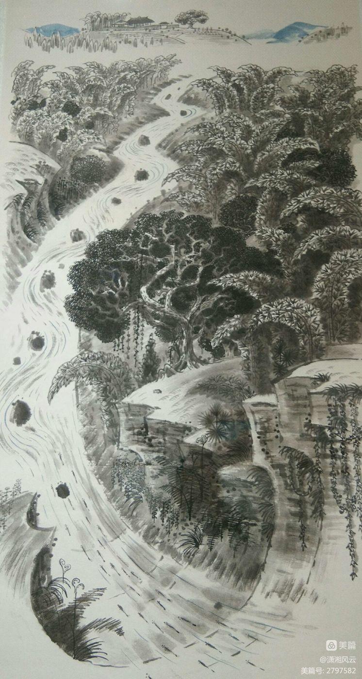 80幅周令钊的神画之作,惊艳了祖国,醉美了山川(图14)