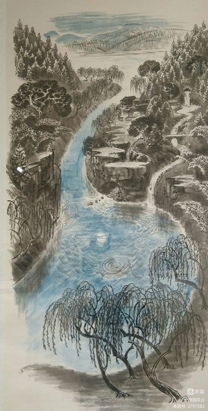 80幅周令钊的神画之作,惊艳了祖国,醉美了山川(图16)