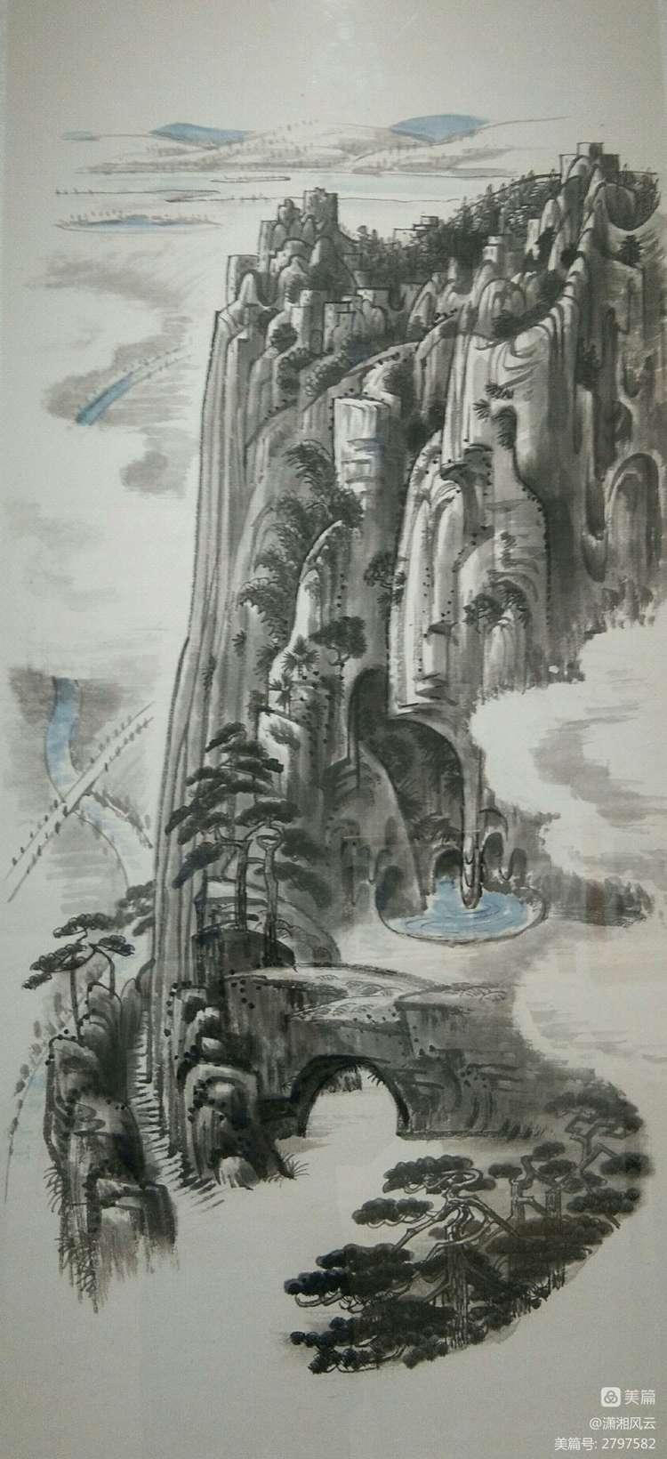 80幅周令钊的神画之作,惊艳了祖国,醉美了山川(图9)