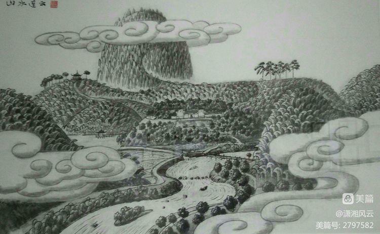 80幅周令钊的神画之作,惊艳了祖国,醉美了山川(图8)