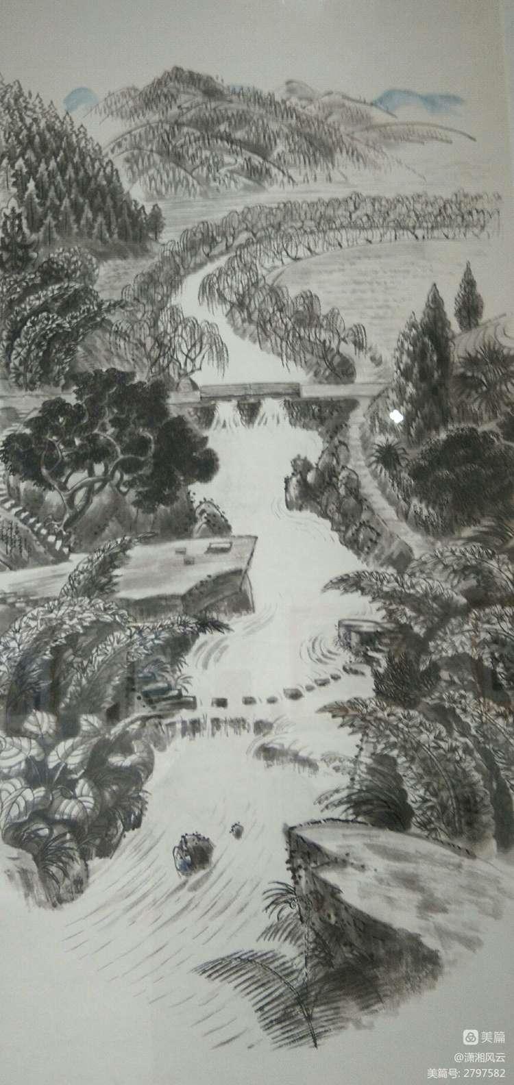 80幅周令钊的神画之作,惊艳了祖国,醉美了山川(图11)