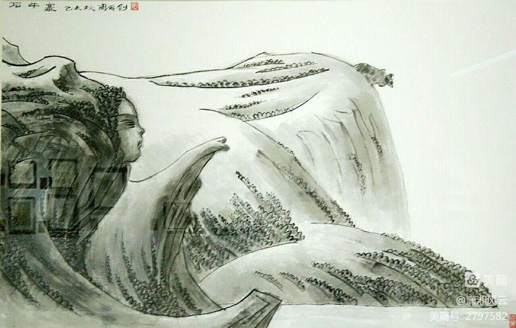 80幅周令钊的神画之作,惊艳了祖国,醉美了山川(图18)