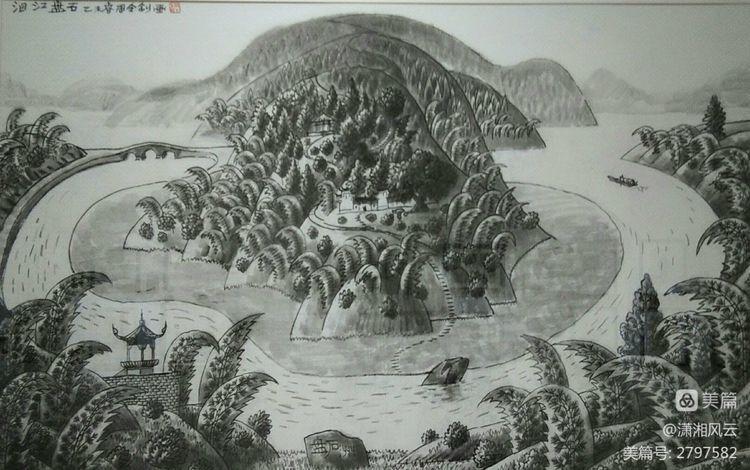 80幅周令钊的神画之作,惊艳了祖国,醉美了山川(图7)
