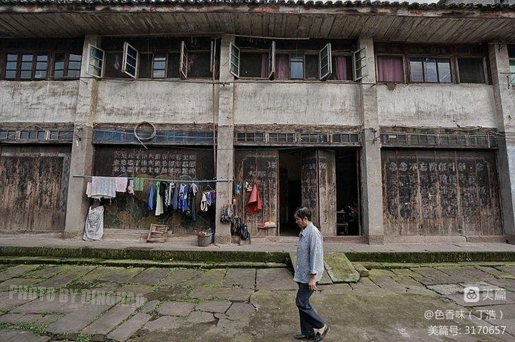 藏于山林的四川原味古镇――龙华(图26)