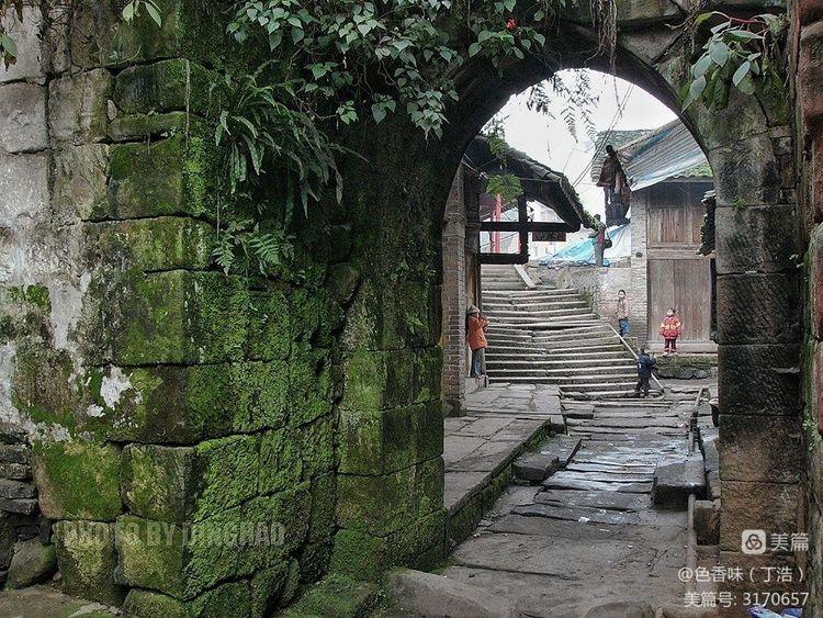 藏于山林的四川原味古镇――龙华(图8)