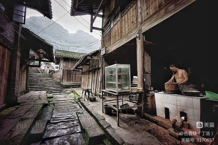 藏于山林的四川原味古镇――龙华(图13)