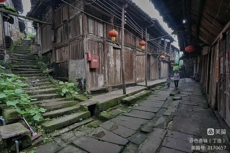 藏于山林的四川原味古镇――龙华(图25)