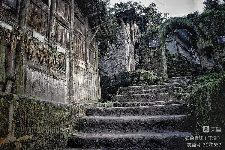 藏于山林的四川原味古镇――龙华(图10)