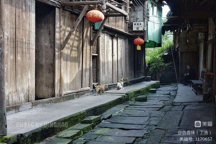 藏于山林的四川原味古镇――龙华(图37)