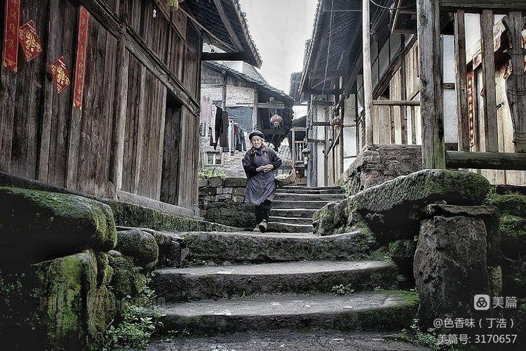 藏于山林的四川原味古镇――龙华(图17)