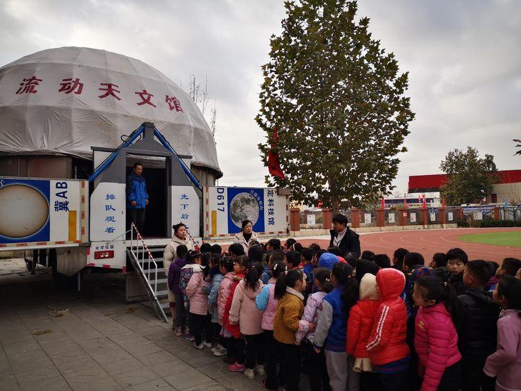 科普进行时:中国科技馆科普服务基层活动来到石家庄市栾城区