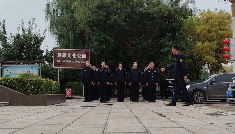 """魏县城管执法局开展""""城市管理大练兵""""活动"""