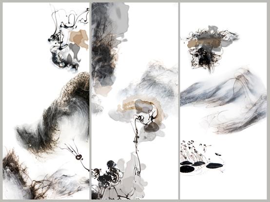数字水墨艺术家陆军——美来自对想象和极限的突破
