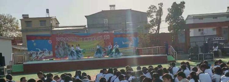 """""""黄梅戏进校园""""走进怀宁县中等专业学校"""