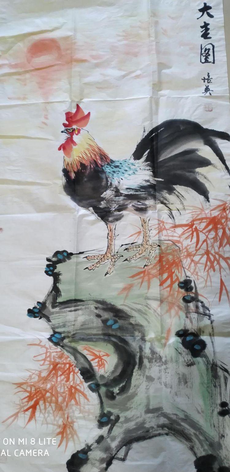 包头市九原区广艺书画协会全体书画老师们用书画作品为抗疫呐喊助威