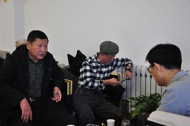"""发扬传统文化 传播时代新歌——内蒙古老年书画协会呼伦贝尔市分会主办""""和合新城 迎新春 送春联""""活动"""