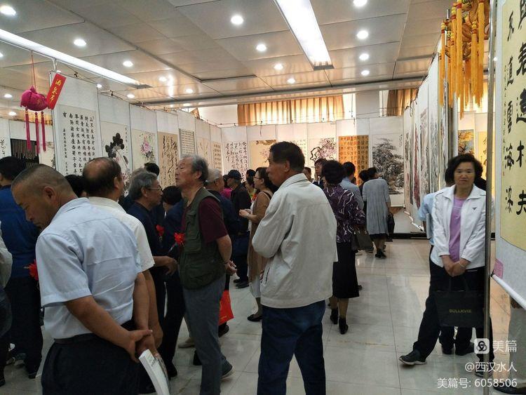 西部友好城市老年书画作品展在甘肃省庆阳市开幕