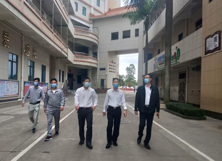 电白区人大领导深入汉山集团公司调研指导复工