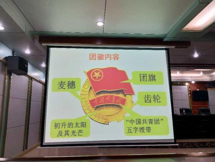 2020年昌江县职业教育中心-入团第一课(图7)