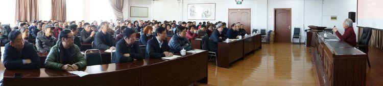 吉林省吉林市老年书画研究会党总支举办党课教育活动