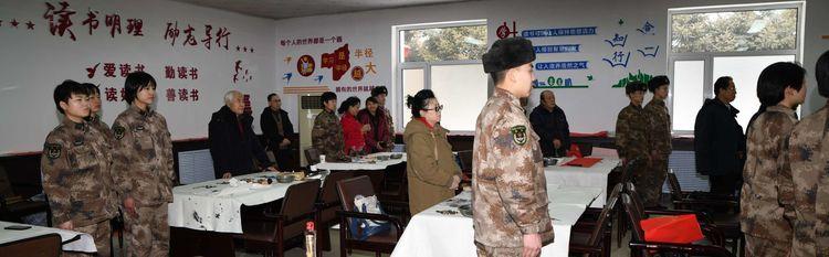 吉林省吉林市老年书画研究会迎新春送春联活动掠影