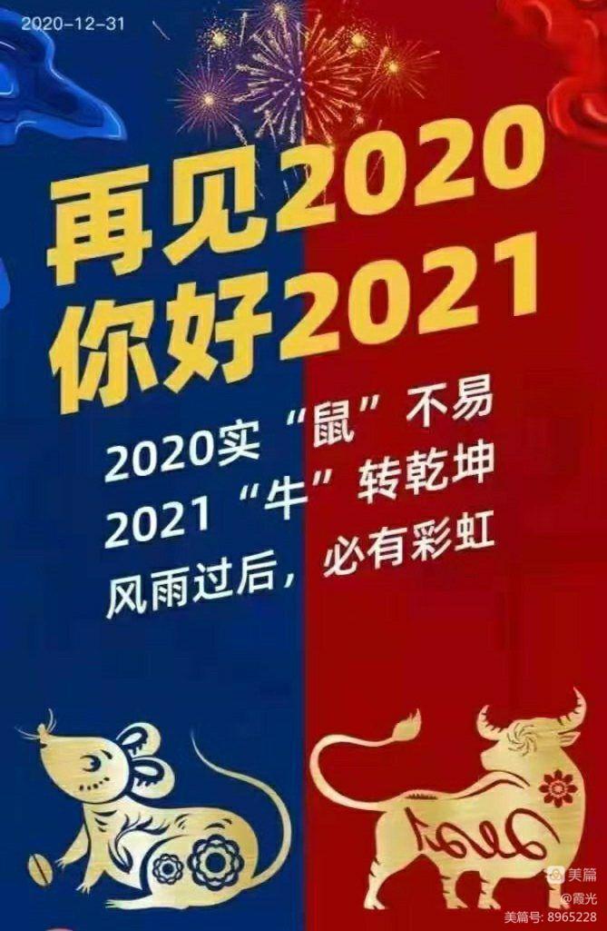 别了,我的2020年